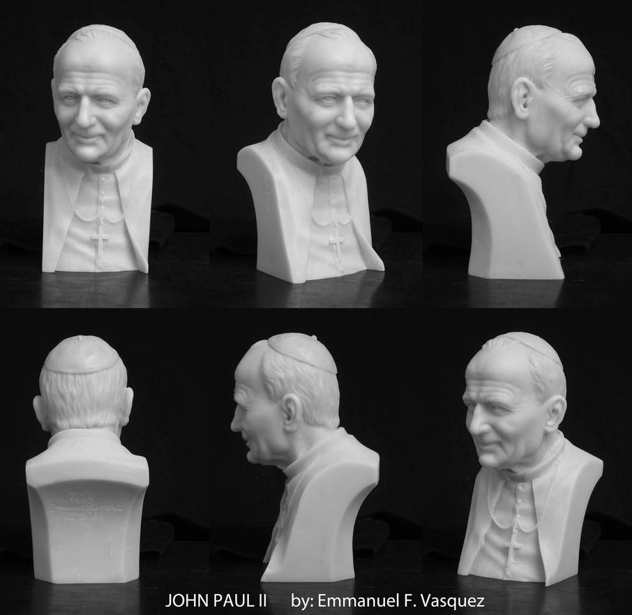 St. John Paul II by Aeonoel