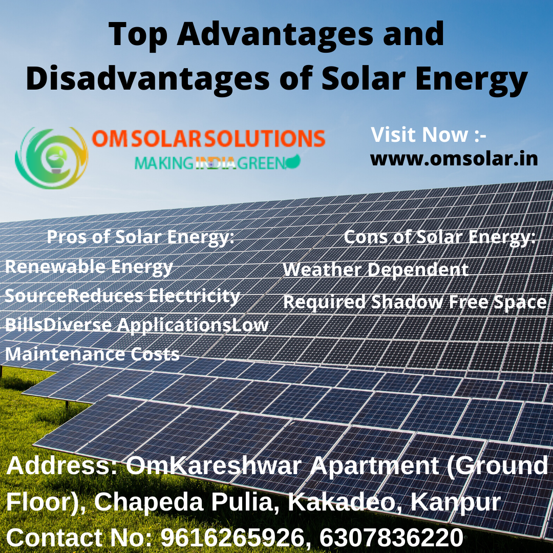 Top Advantages And Disadvantages Of Solar Energy By Omsolar On Deviantart