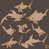 Shark Week-Day 7 by tea-tiger