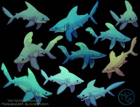 Shark week 2014 - colored