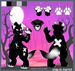~SOLD~ Canine Anthro Adoptable (5)