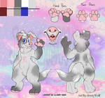 ~SOLD~ Canine Anthro Adoptable (7)