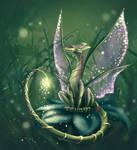 Fairy-tail dragon