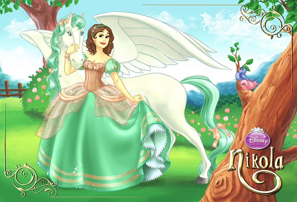 disney princess style nikola