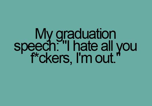 graduation speech help