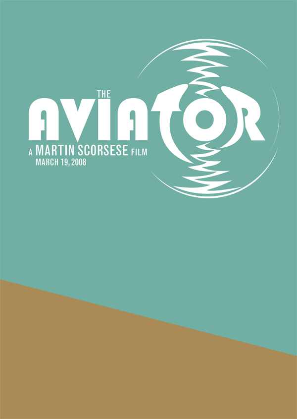 The Aviator Movie Poster by madFusion15