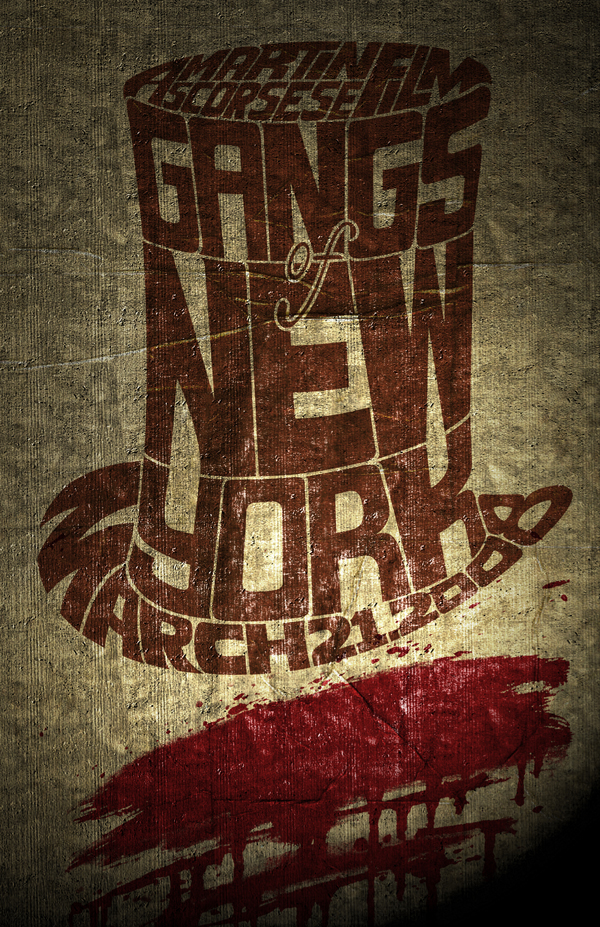 Gangs of New York Movie Poster by madFusion15