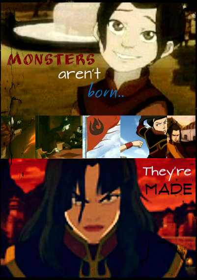 Aren T Infographics Just The: Azula- Monsters Aren't Born By PrincessBlueFire On DeviantArt