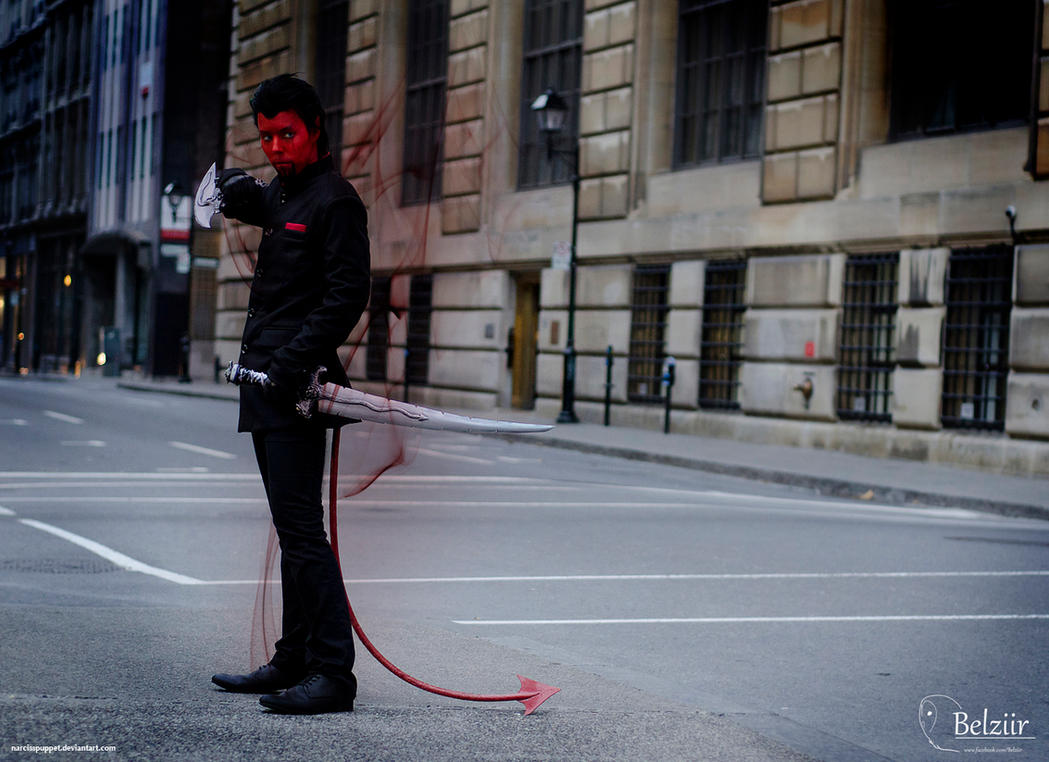 Azazel - X-men First Class by NarcissPuppet