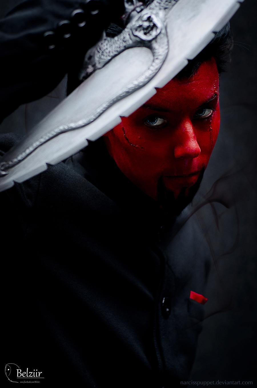 Azazel - X-men by NarcissPuppet