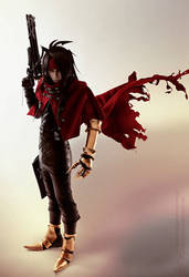 Vincent Valentine Final Fantasy Dirge of Cerberus