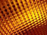 Grid of Orange Lights