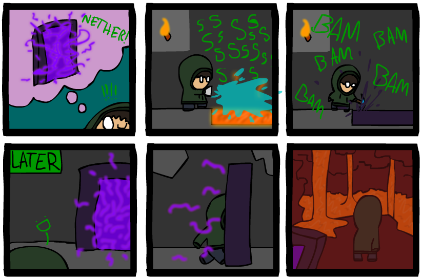 Minecraft Comic 3 by Hraugur on DeviantArt