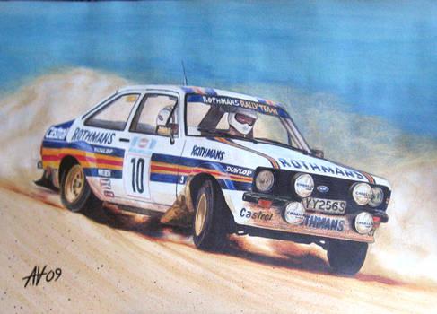 A. Vatanen Ford Escort