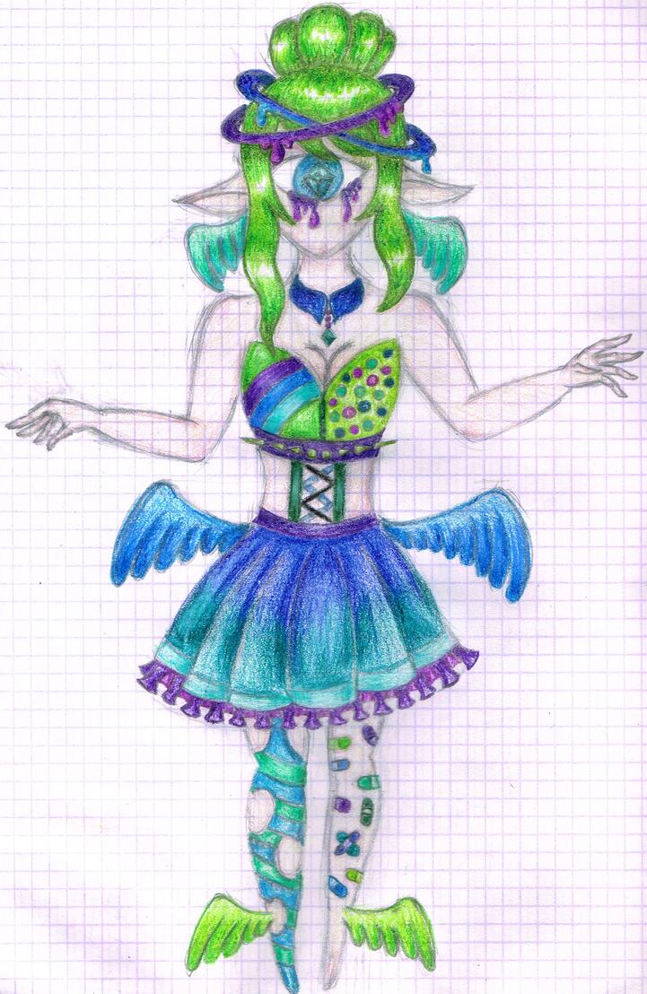 Glitter Angel MYO- Cynthia Blossom by i-am-a-fangirl