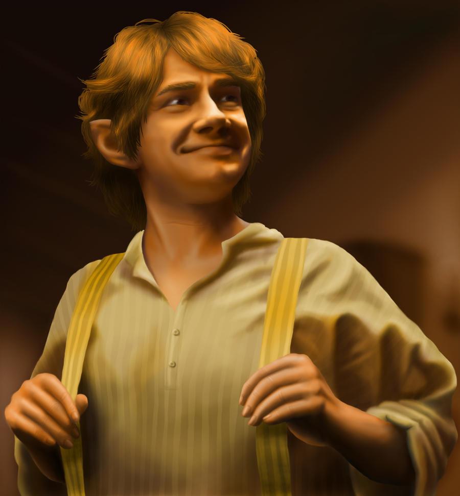 Bilbo Baggins by Staubie