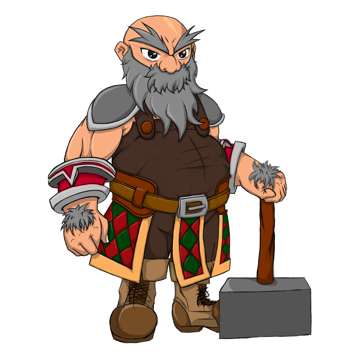 Kings never die [pv : Glorim] Dwarf_concept_art_by_wicttor-d60a52f
