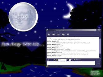 Nightscape desktop by jealousofrouge