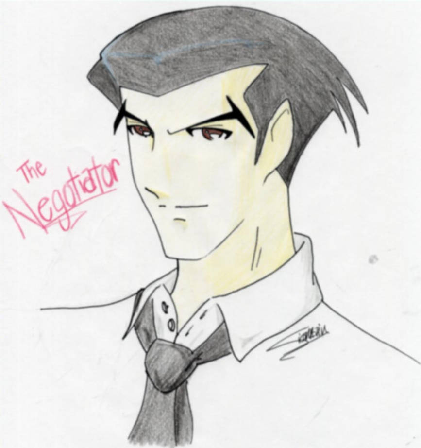 Roger Smith sketch thing by jealousofrouge