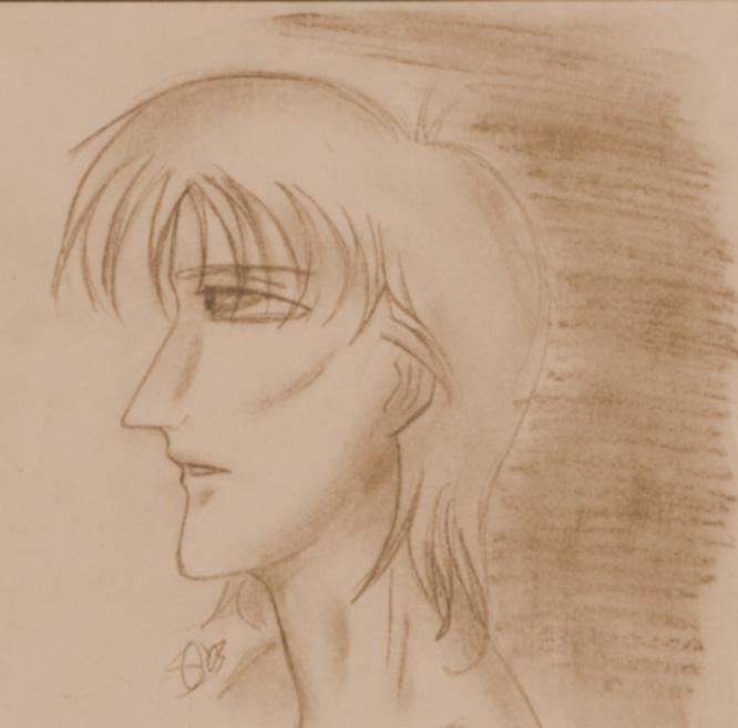 Gabriel - A Random Sketch by jealousofrouge