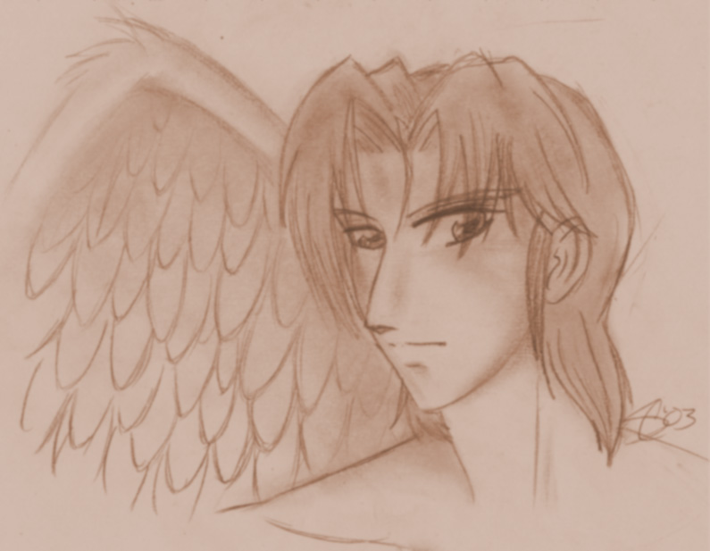 The Angel Michael by jealousofrouge