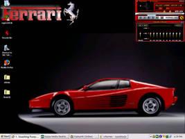 Testarossa Desktop by jealousofrouge