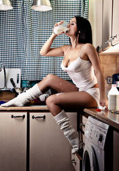 Drink Milk 01 by PinkFishGR