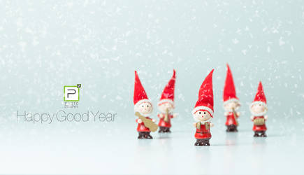 P2 Photography Greece Happy Good Year by PinkFishGR