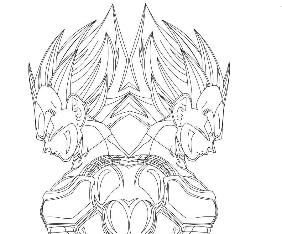 de b  250 squeda para dibujos de Vegeta sayayin 4 para colorearVegeta Color Drawing