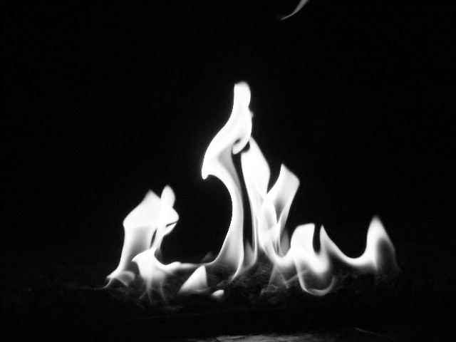 Fire black and white by colleen721 on deviantart - Black and white fireplace ...