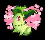 :Chikorita: Sweet Scent by MeguBunnii