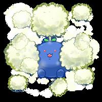 :Jumpluff used Cotton Spore: by MeguBunnii