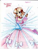 :Princess Zelda: 1986 Ver. by MeguBunnii