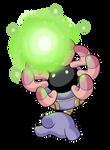:Lileep used Energy Ball: by MeguBunnii