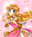:Princess Zelda: ALBW/SSBU w/SpeedPaint