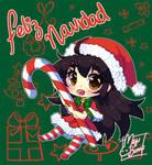 :Merry Xmas: by MeguBunnii
