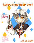Happy New Year Eve by MeguBunnii