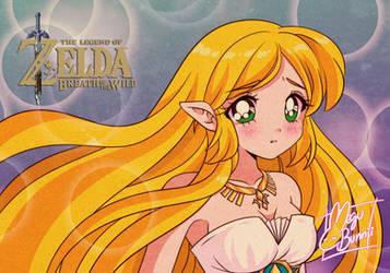 :Zelda 90s Style: by MeguBunnii