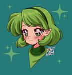 :Saria: Retro Style by MeguBunnii
