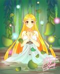 :TLoZBotW:The Priestess: by MeguBunnii