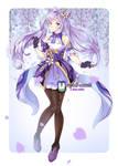 :FanArt: Keqing by MeguBunnii