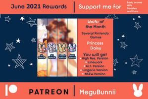 :Patreon Rewards Sent: - June