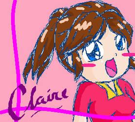 Chibi Claire Redfield x3