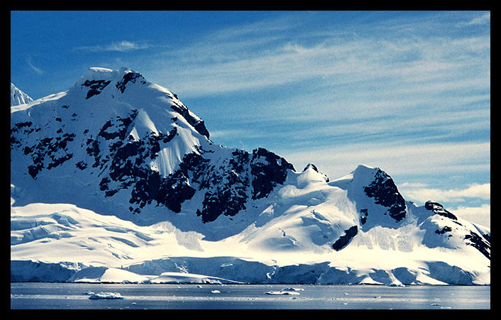 antarctic mountains by concretedonkey on deviantart