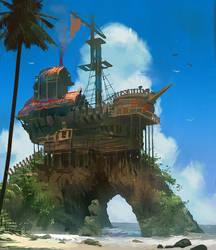 Pirates hideout