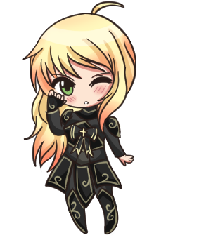 Chibi Alena by QueenAdorkable