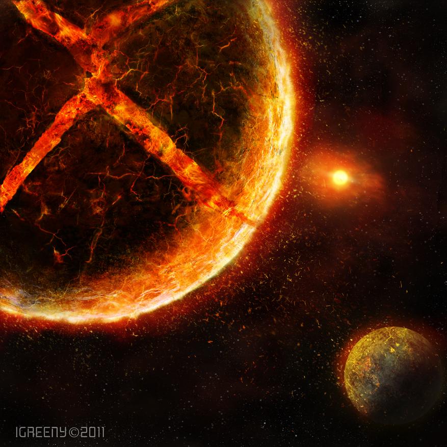 Broken Planet by igreeny