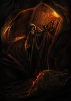 Behind shadow by igreeny