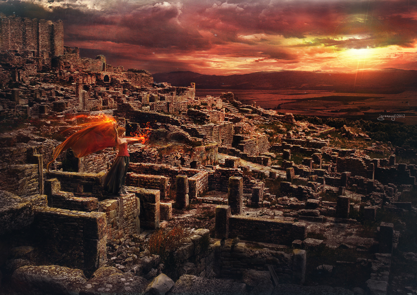 Red dawn by igreeny