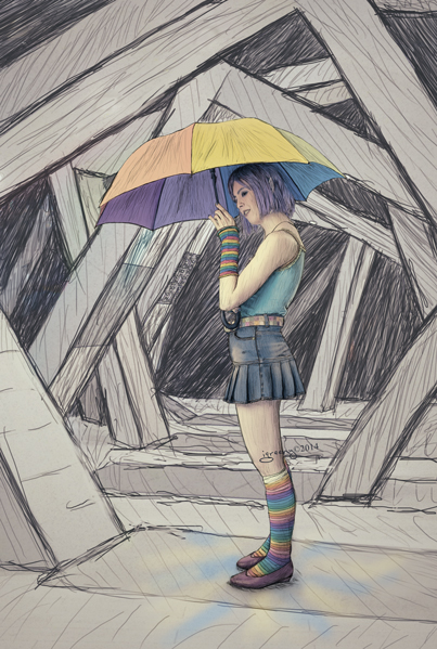 Umbrella by igreeny
